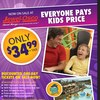 Six Flags Great America Jewel-Osco Full Page Spotlight Ad