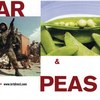 War & Peas Postcard