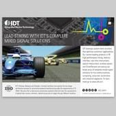 IDT half page print ad