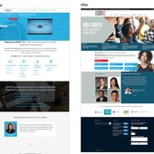 Career resource website redesign
