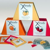 Package Design: Xanadu Tea