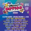 Hot 100 Festival Lineup Poster