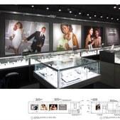 Ultra Diamonds store wall graphics
