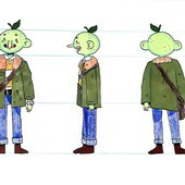 Lime Man: character concept