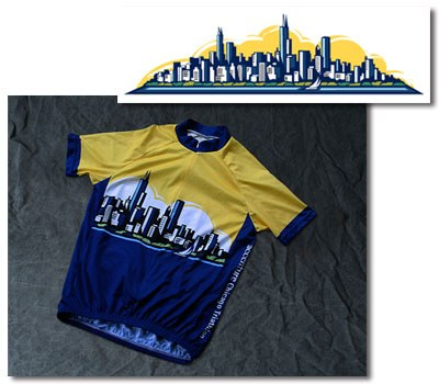 Accenture Chicago Triathlon Cycling Jersey - Tom Wallis | Creative