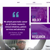 Pancreatic Cancer Action Network home page