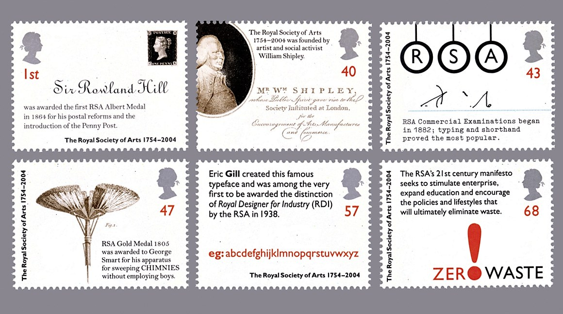 Royal Mail Postage Stamp Collection Communication Arts