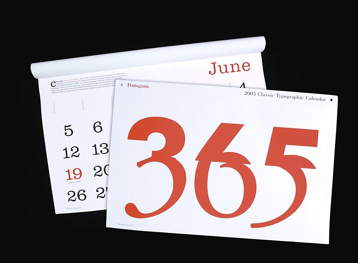 Fair Trade Wooden Calendar With Pentagram Design T15