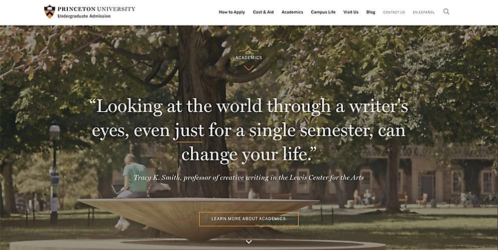 Princeton university office of undergrad admission - Princeton university office of admissions ...