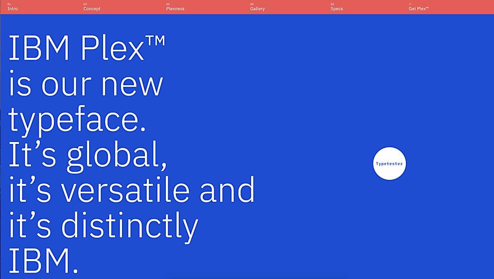 IBM Plex | Communication Arts