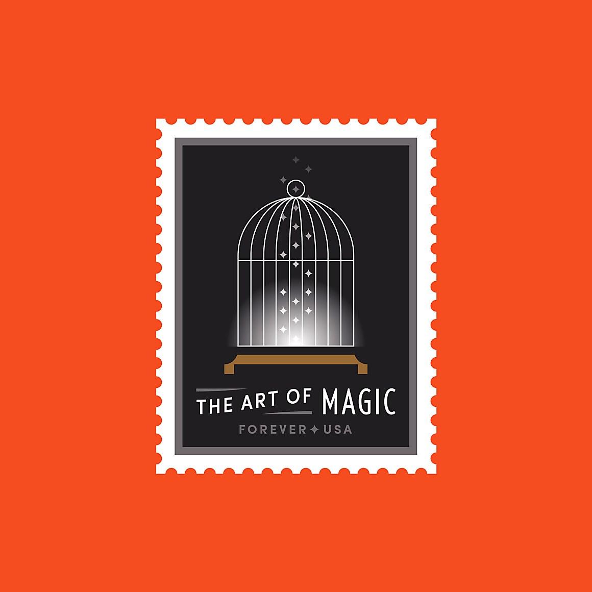 Usps the art of magic stamps communication arts greg breeding united states postal service art director j fletcher design design firm united states postal service client buycottarizona