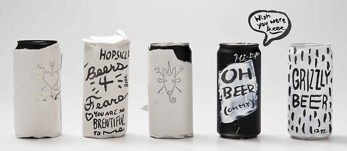 Maria S Craft Beer Cans Communication Arts